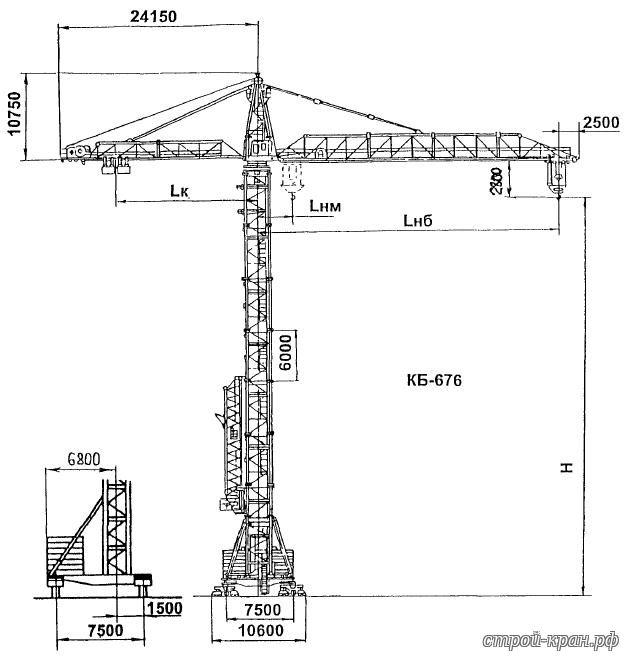 Электрическая схема башенного крана 408
